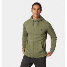 Men's Hardwear Logo Full Zip Hoody by Mountain Hardwear in Golden CO
