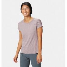Women's Mighty Stripe Short Sleeve T by Mountain Hardwear in Whistler Bc