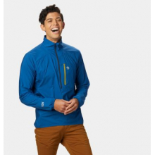 Men's Kor Preshell Pullover by Mountain Hardwear in Cold Lake Ab
