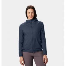 Women's Kor Preshell Hoody by Mountain Hardwear in Whistler Bc