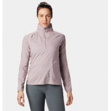 Women's Kor Preshell Pullover by Mountain Hardwear in Lethbridge Ab