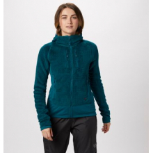 Women's Monkey Woman Grid Hooded Jacket by Mountain Hardwear in Aspen CO