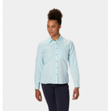 Women's Canyon Long Sleeve Shirt by Mountain Hardwear in Nanaimo Bc