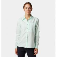 Women's Canyon Long Sleeve Shirt by Mountain Hardwear in Dillon CO