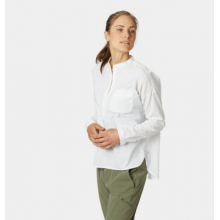 Women's Canyon Pro Popover Long Sleeve Shirt by Mountain Hardwear in Glenwood Springs CO