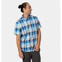 Men's Big Cottonwood Short Sleeve Shirt by Mountain Hardwear in Rocky View No 44 Ab