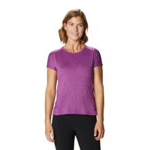 Women's Mighty Stripe Short Sleeve T by Mountain Hardwear