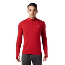 Men's Ghee Long Sleeve 1/2 Zip by Mountain Hardwear in Oro Valley Az
