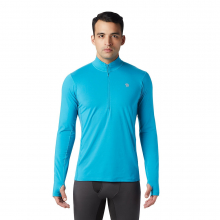 Men's Ghee Long Sleeve 1/2 Zip by Mountain Hardwear in Blacksburg VA