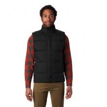 Men's Glacial Storm Vest by Mountain Hardwear in Aspen Co