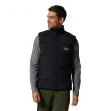 Men's Glacial Storm Vest by Mountain Hardwear