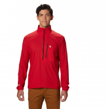 Men's Kor Preshell M Pullover by Mountain Hardwear in Cold Lake Ab