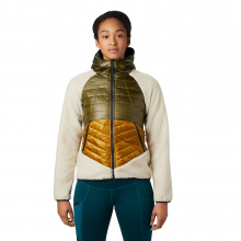 Women's Altius Hybrid Hoody by Mountain Hardwear in Whistler Bc