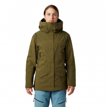 Women's Boundary Line Gore-Tex Insulated Jacket by Mountain Hardwear in Whistler Bc