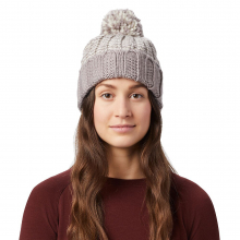 Women's Classic Striped Pom-Pom Beanie by Mountain Hardwear in Vernon BC