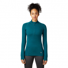 Women's Ghee Long Sleeve 1/4 Zip by Mountain Hardwear in Blacksburg VA