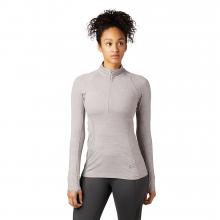 Women's Ghee Long Sleeve 1/4 Zip by Mountain Hardwear in Aspen Co