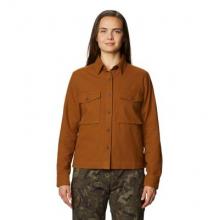 Women's Moiry Shirt Jacket by Mountain Hardwear