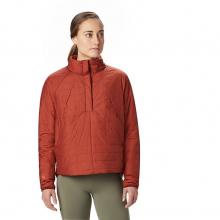 Women's Skylab Insulated Pullover by Mountain Hardwear in Aspen Co