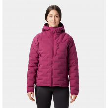 Women's Super/DS Stretchdown Hooded Jacket by Mountain Hardwear in Vancouver Bc