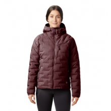 Women's Super/DS Stretchdown Hooded Jacket by Mountain Hardwear in Anchorage Ak