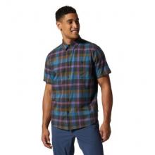 Men's Big Cottonwood Short Sleeve Shirt by Mountain Hardwear in Boulder CO