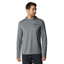 Men's Crater Lake Long Sleeve Hoody by Mountain Hardwear in Chelan WA
