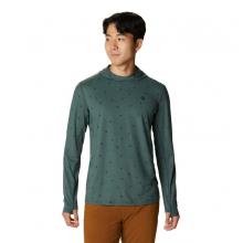 Men's Crater Lake Long Sleeve Hoody by Mountain Hardwear in Golden CO