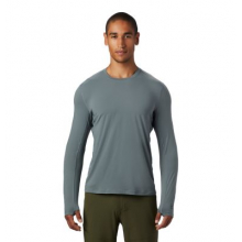 Men's Crater Lake Long Sleeve T by Mountain Hardwear in Golden CO