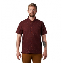 Men's Hand/Hold Printed Short Sleeve Shirt by Mountain Hardwear in Rocky View No 44 Ab