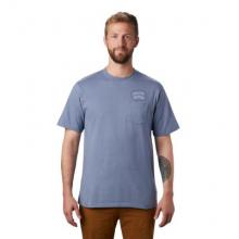 Men's MHW/Marrow Short Sleeve Pocket T by Mountain Hardwear