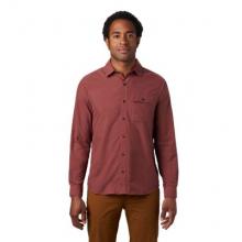 Men's Greenstone Long Sleeve Shirt by Mountain Hardwear