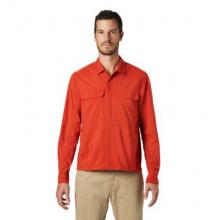 Men's Echo Lake Long Sleeve Shirt by Mountain Hardwear in Glenwood Springs CO