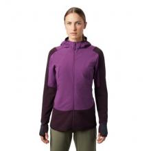 Women's Keele Hybrid W FZ Hoody by Mountain Hardwear