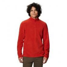 Men's Microchill 2.0 Zip T by Mountain Hardwear in Boulder CO