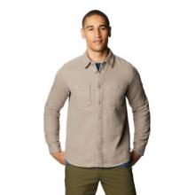 Men's Plusher Long Sleeve Shirt by Mountain Hardwear in Squamish BC