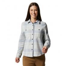 Women's Plusher Long Sleeve Shirt by Mountain Hardwear in Golden CO