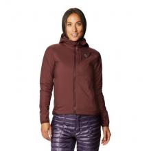 Women's Kor Strata Hooded Jacket by Mountain Hardwear