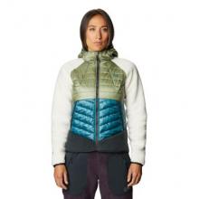Women's Altius Hybrid Hoody by Mountain Hardwear