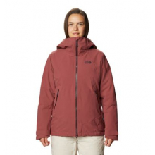 Women's Powder Quest Insulated Jacket by Mountain Hardwear in Fort Collins CO