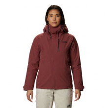 Women's Powder Quest Light Insulated Jacket by Mountain Hardwear in Fort Collins CO