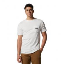Men's MHW Logo Label Short Sleeve Pocket T by Mountain Hardwear