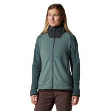 Women's Unclassic LT Fleece Jacket by Mountain Hardwear