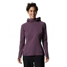 Women's Mountain Stretch Long Sleeve Hoody by Mountain Hardwear in Sioux Falls SD
