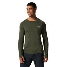 Men's Mountain Stretch Long Sleeve by Mountain Hardwear in Golden CO