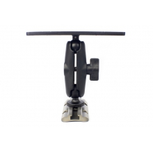 "Screwball Combo, Universal electronics Mount, 6 1/4"" X 2"", Includes composite connector arm and 1"" Screwball by YakAttack"
