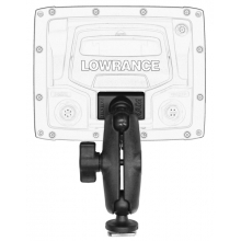 "Screwball Combo, Ball Mount for Lowrance Elite-4 & Mark-4 Series Fishfinders, Includes composite connector and 1"" Screwball. by YakAttack"