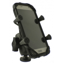 "Screwball Combo, RAM Universal X-Grip mount for Smartphones and small electronics, Includes composite connector and 1"" Screwball by YakAttack"