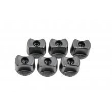 Convertible Knobs, 1/4-20 Threads, 6 pack