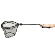 Leverage Landing Net XL, 20'' X 21'' hoop, 60'' Long by YakAttack